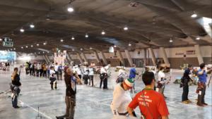 coppa italia 3d indoor 2018 linea di tiro