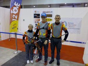 riccardo adele lele roma archery trophy 2018