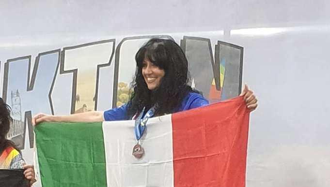 Marina Tesio Campionessa del Mondo!